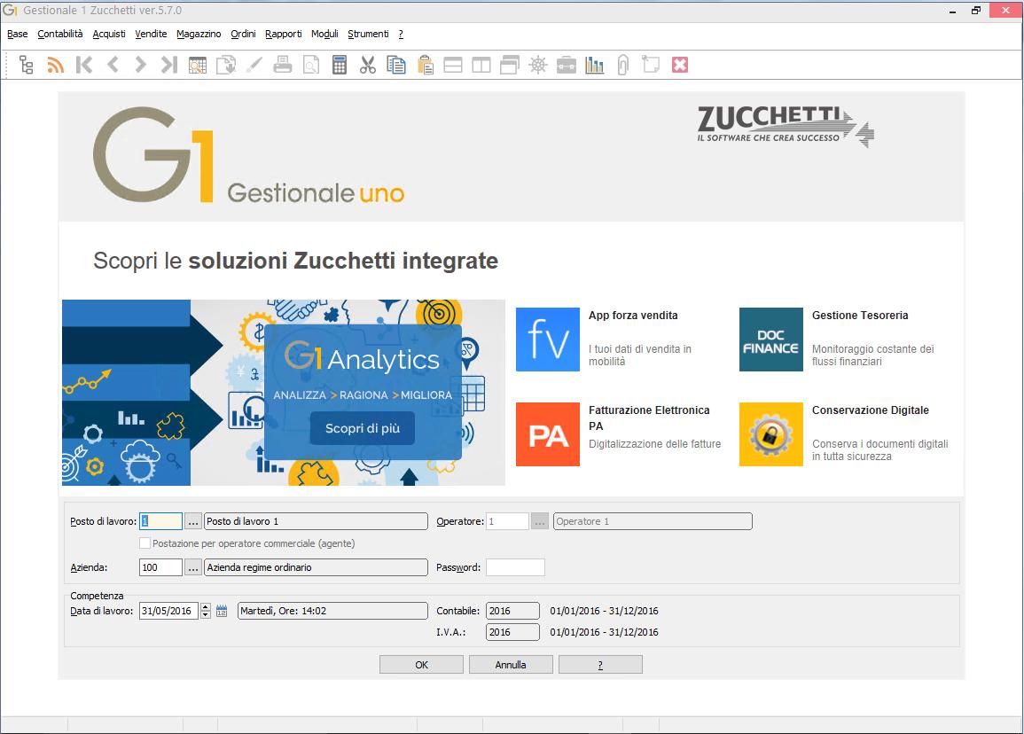 Software Gestionale 1 Zucchetti Panoramica Prodotto